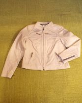 JACKET-LEATHER,BROWN