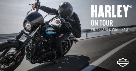 Harley on Tour 2020- przystanek Wrocław