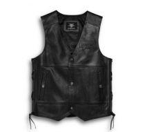 Black Tradition II Leather Vest