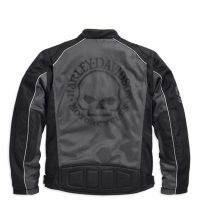 Harley-Davidson® Men's Skull Mesh Riding Jacket