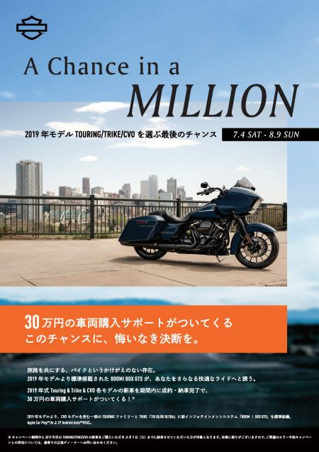【A Chance in a MILLION】